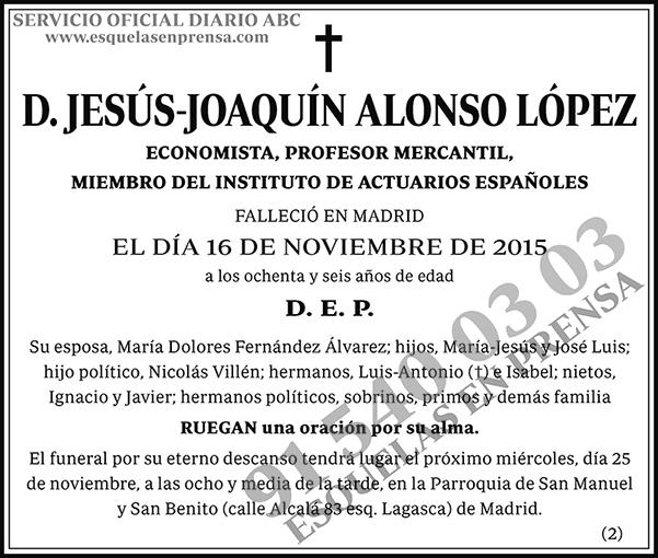 Jesús-Joaquín Alonso López